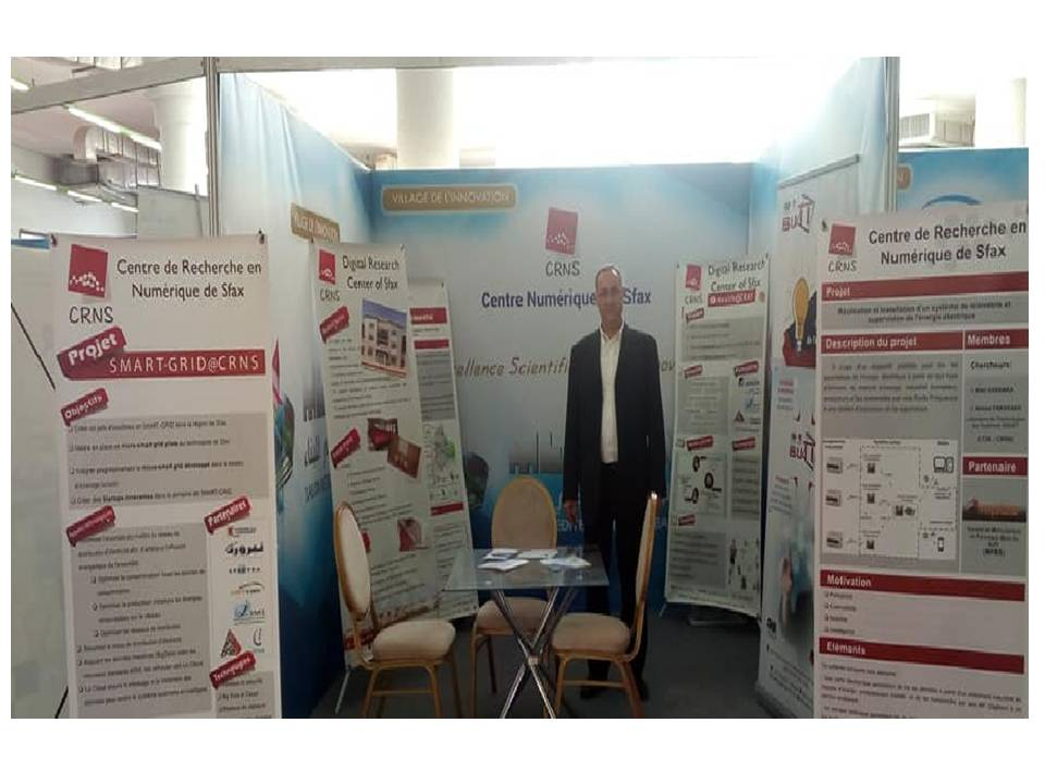 "Participation of CRNS in "" MEDIBAT 2019"""