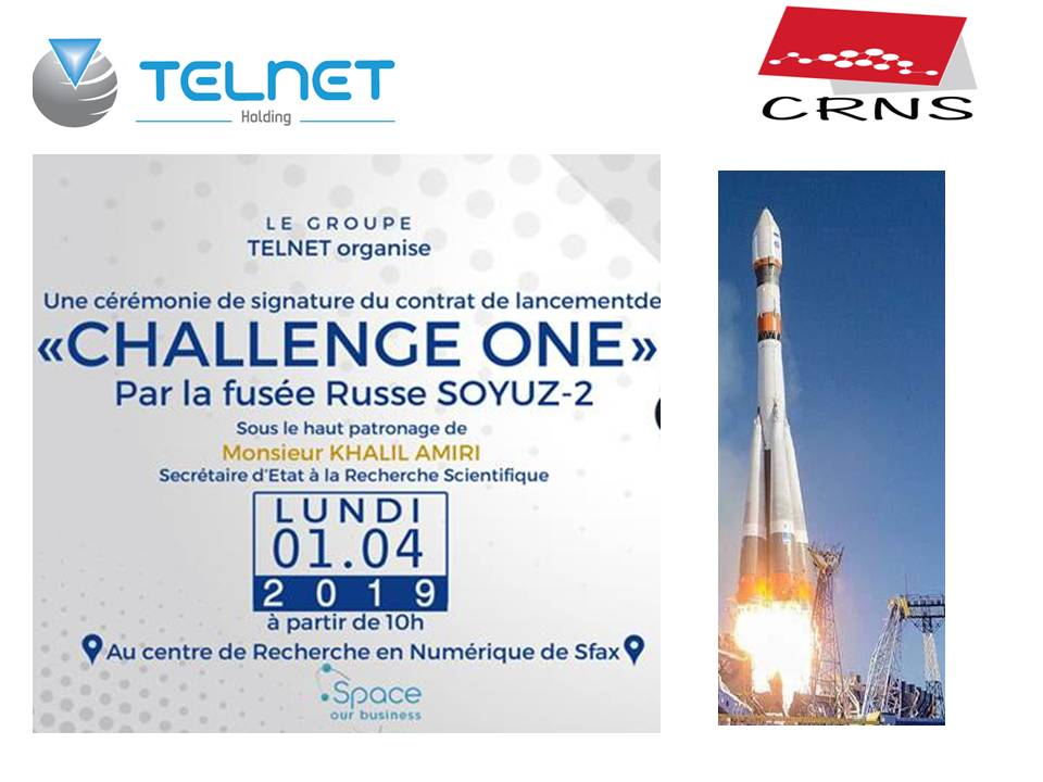 "Signing Ceremony of the Launch Contract ""Challenge ONE"""