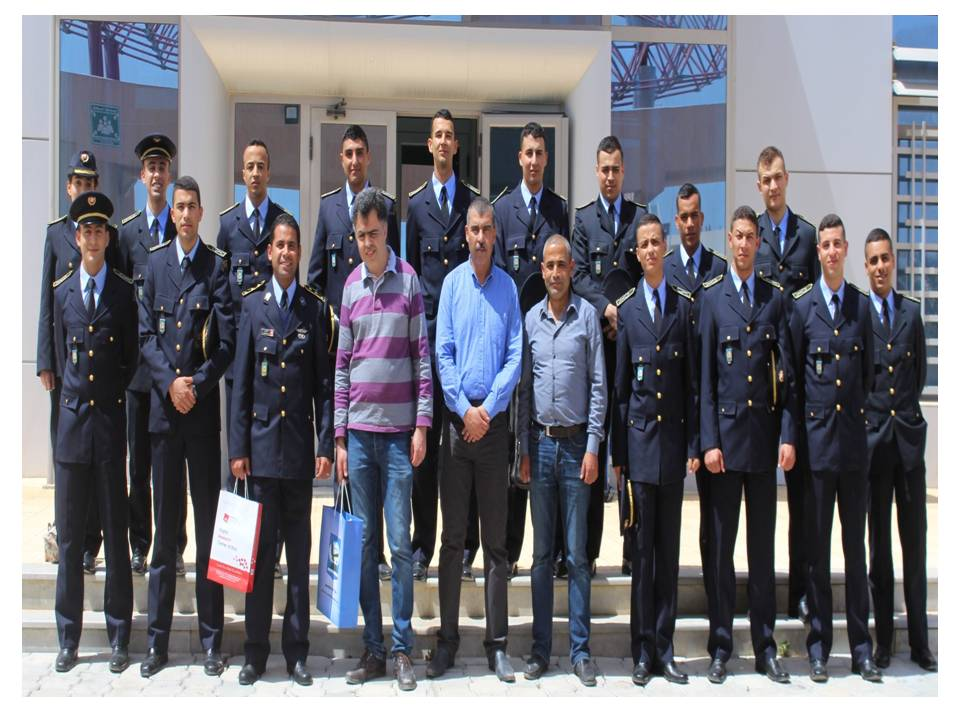 Visit of a delegation from the Aviation School