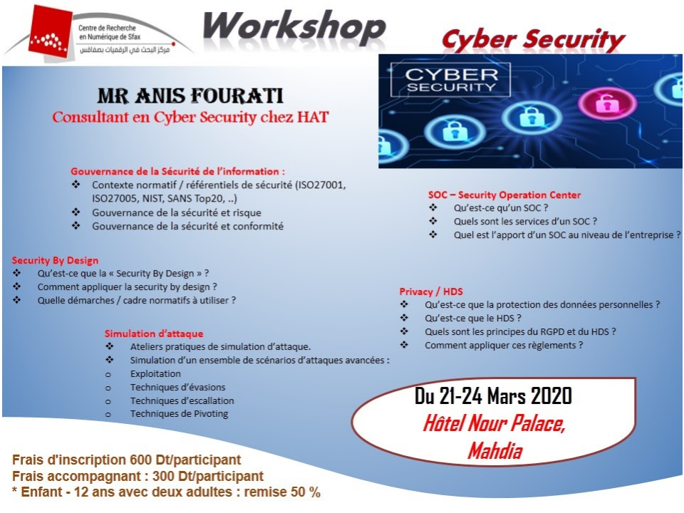 Workshop on Cyber Security