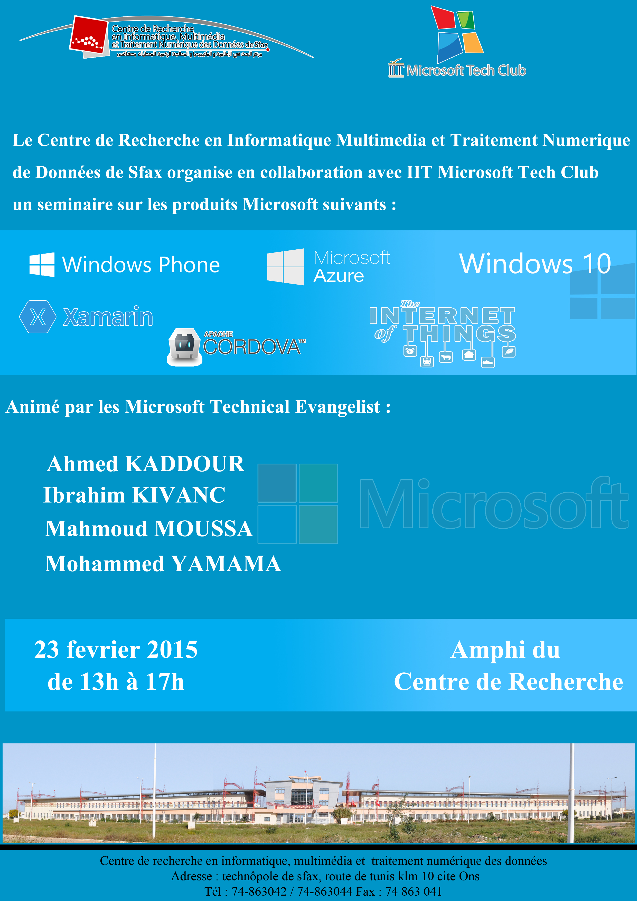Seminar for Microsoft products