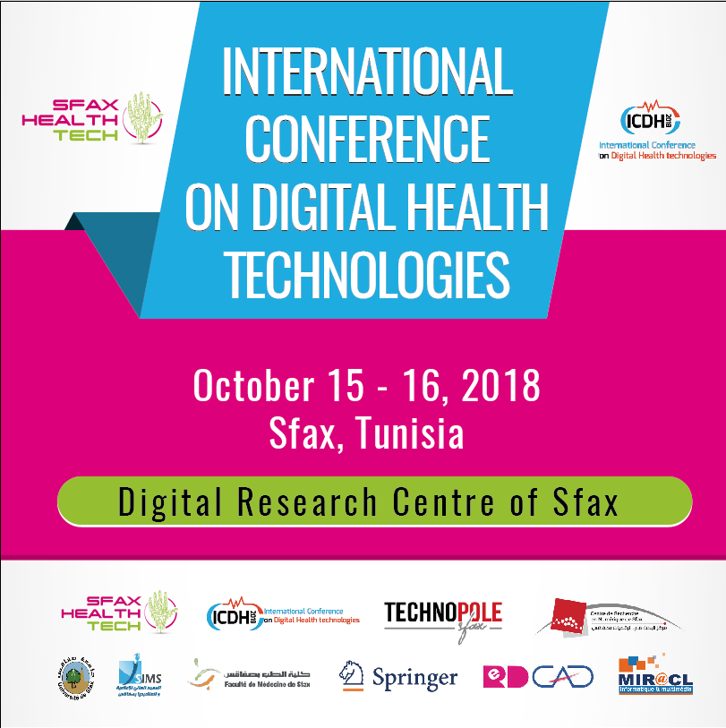 "International Conference on Digital Health Technologies ""ICDHT 2018"""