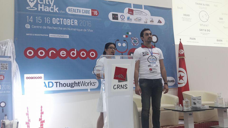Third edition of the Hackathon CityHack'2016