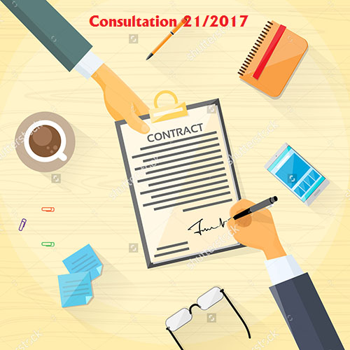 Consultation No. 21 of 2017