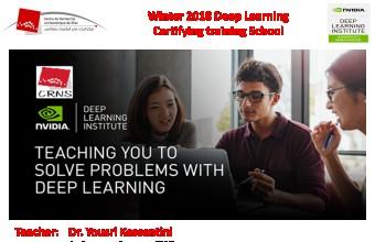 Deep Learning Certifying Training School 2018
