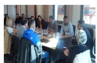 Visit of a Delegation from SOFRECOM Tunisia and Orange Labs Research