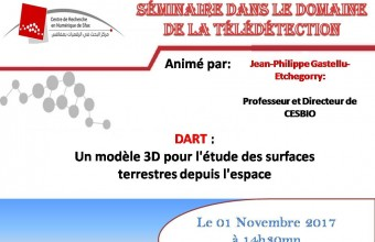 Seminar of Jean-Philippe Gastellu at CRNS
