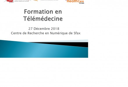 Training session of telemedicine
