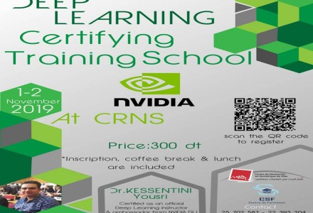 Deep Learning Certifying Training School 2019