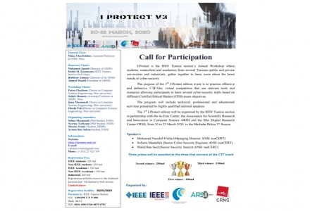The 3rd edition of the annual event I-PROTECT.