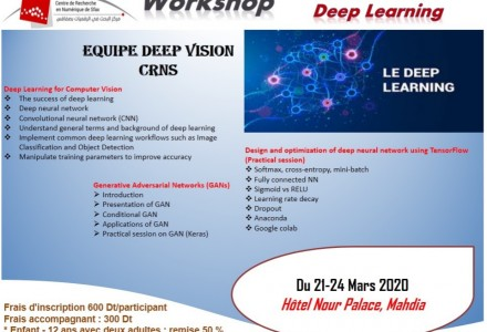 Workshop on Deep Learning