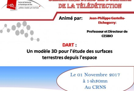 Seminar of Jean-Philippe Gastellu at CRNS