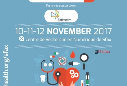 Hacking Health Sfax from 10th to 12th November 2017 at CRNS